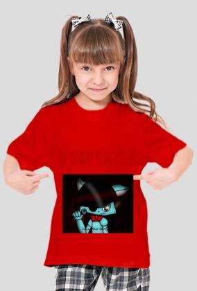 Koszulka czarna Wix the Wolf