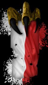 Flaga z pazurem - dziecięca