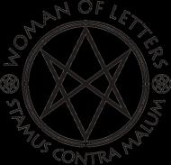 Woman Of Letters - przypinki