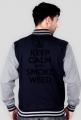 Keep Calm and Smoke Weed PolishRap Jacket College (Man)
