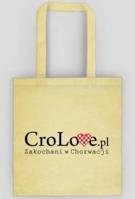 Torba CroLove.pl beżowa