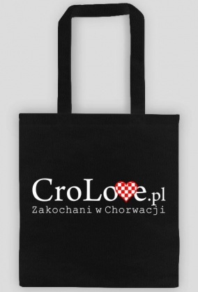 Torba CroLove.pl czarna
