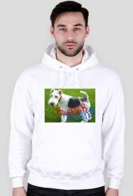 Kacper Terrier bluza biała
