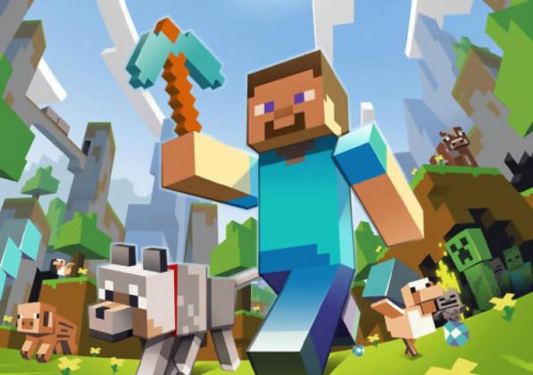 Koszulka Minecraft Klasycznie dziecięca