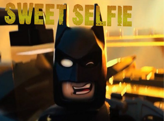 Sweet selfie batman kubek