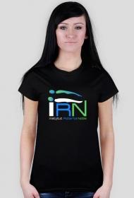 Koszulka logo IRN (f)