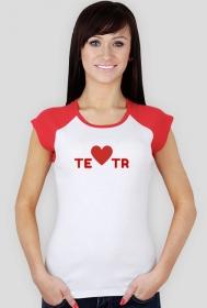 teatr - koszulka damska