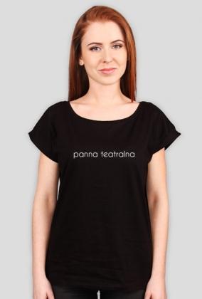 panna teatralna - czarna koszulka damska