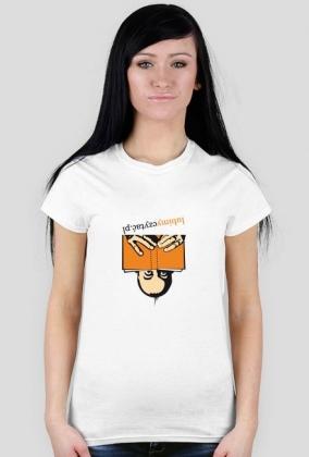 Koszulka damska Lubimy czytać... w każdej pozycji