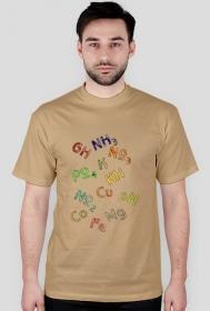 "Koszulka męska "" Parametry wody """