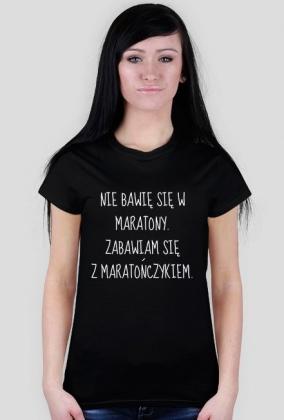 Koszulka dla kibicki maratończyka.