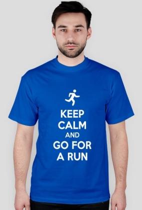 T-shirt dla biegacza. Keep Calm.