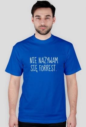 Koszulka biegacza. Nie nazywam się Forrest.