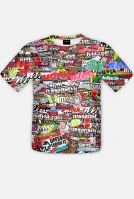 Koszulka STICKERBOMB no.1