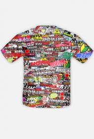 Koszulka STICKERBOMB FULL