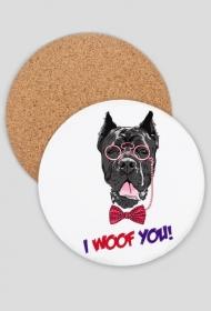Podkładka pies okulary