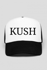 KUSH black Trucker