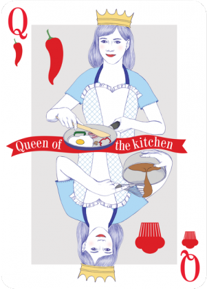 Queen of the kitchen - poduszka - skosztuj.to