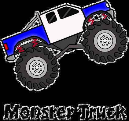 Podkładka pod myszkę Monster Truck