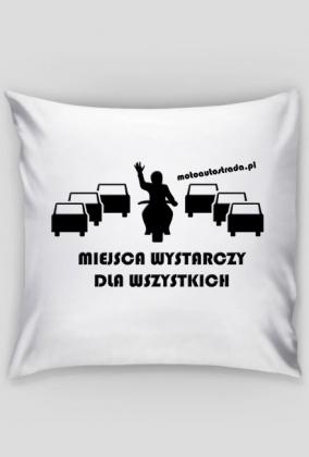 Poduszka z logo Miejsca.