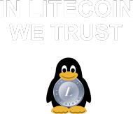 In Litecoin we trust (czerwona)
