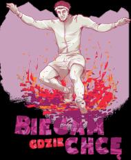Koszulka - Downhill Purple Damska