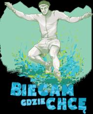 Koszulka - Downhill Blue Damska