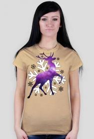 Winte Wonderland Space Reindeer Girl - MadWear