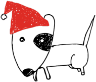 Śpioszek świąteczny - biały