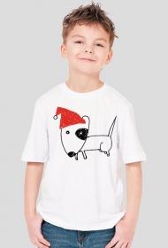 Chłopięca świąteczna koszulka