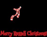 Świąteczna podkładka pod szklankę - RussellTerrier