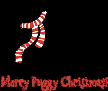 Śpioszek świąteczny - Mops
