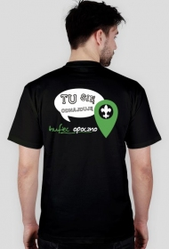 T-shirt Tu się odnajduję