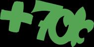 Przypinka 70-lecia Hufca