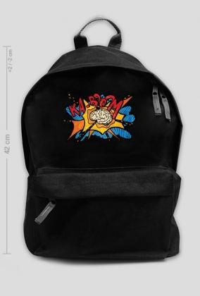 """""""plecak z nadrukiem""""  - O'Prime Art Prints - Ka-Boom"""