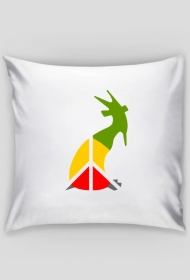 kozioł peace - pillow