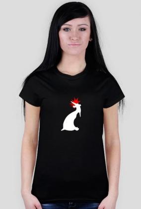 kozioł punk - woman standard white symbol