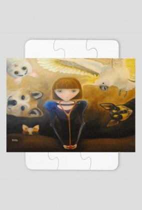 Puzzle Weterynarz/Puzzle Vet