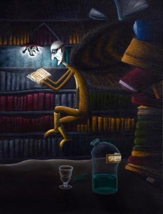 Poduszka Bibliotekarz/Pillow Librarian