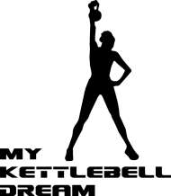 Koszulka na siłownię my kettlebell dream/czarny