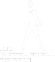 Torba na siłownię my kettlebell dream/biały