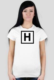 Damska koszulka z logo [H]