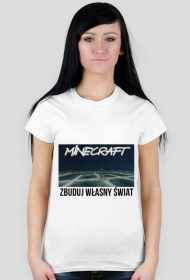 Minecraft girl t-shirt