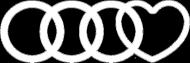 'Audi heart' bluza damska,bez kaptura