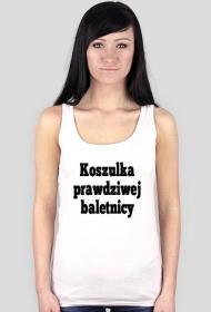 koszulka prawdziwej baletnicy