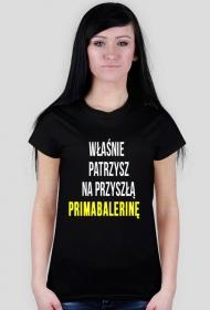 t-shirt: primabalerina black