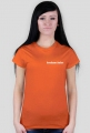 t-shirt: kocham balet orange