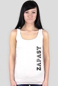 koszulka zapasy biała