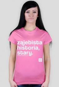 Zajebista historia stary (cool story bro) by Szymy.pl - damska ciemna