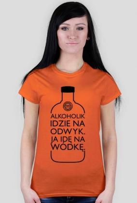 Alkoholik (wódka) by Szymy.pl - jasna damska